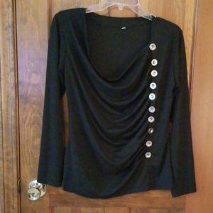 Button detail shirt